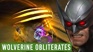 WOLVERINE INSANE 1.5M DAMAGE PER HIT - Marvel Future Fight