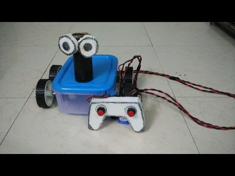 How to make a simple RC car.