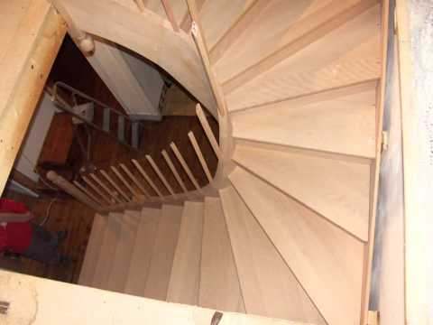 Installing a Curved Staircase | Wood Designer Ltd