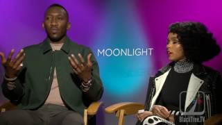 Mahershala Ali and Janelle Monae Interview for MOONLIGHT