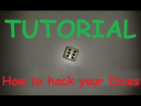 Tutorial 🎲:  How to manipulate a dice / hack a dice / trick dices hack / cube cheating