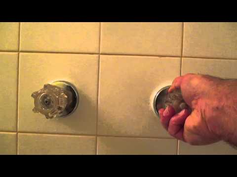How to replace bathtub faucet handles