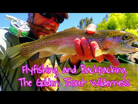 Hiking and Flyfishing the Golden Trout Wilderness