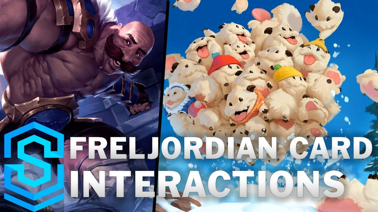 Freljordian Card Special Interactions - Ashe, Braum, Tryndamere, Anivia etc