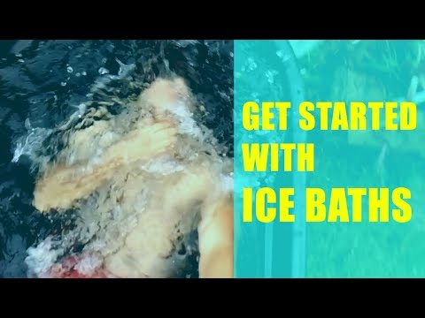 ICE BATH | HOW TO GET STARTED W/ Wim Hof Cold Water Therapy & Wim Hof  Breathing | Iceman Challenge