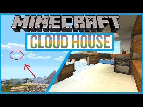 Minecraft Hidden Cloud House Tutorial