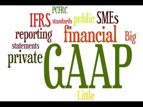 What is GAAP?