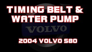 Volvo D5 Timing / Cam Belt Replacement