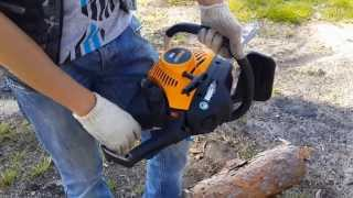 The chainsaw guy shop talk Partner P 100 chainsaw 5 3