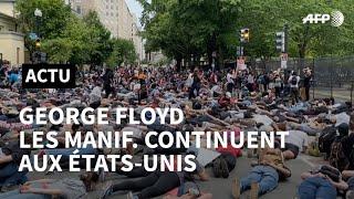 Mort de George Floyd: les manifestations continuent malgré les menaces de Trump | AFP