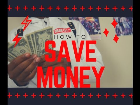 How to Save Money In High School!!