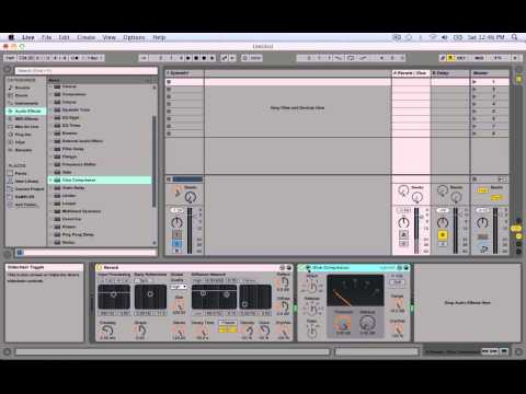 Ableton Live 9 Trance Tutorial: How to create W&W, Above and Beyond Reverb Effect