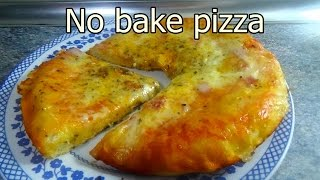 TASTY NO OVEN PIZZA - Tasty and easy food recipes for dinner to make at home