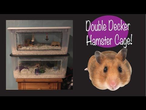 DOUBLE DECKER HAMSTER CAGE TOUR