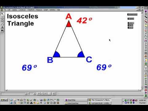 Lesson 3-2: Isosceles Triangle