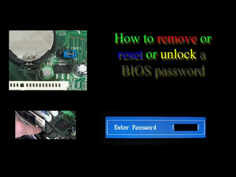 How to remove BIOS password (Asus, Toshiba, Acer, Dell, Lenovo, HP, etc...) - SOLVED
