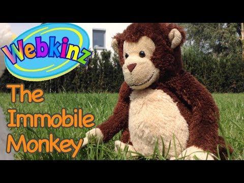 The Immobile Monkey - Webkinz