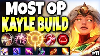 Meet the MOST OP Kayle Build to CARRY 🔥 LoL Meta Kayle Build Guide #11 - LoL Top Kayle s11 Gameplay