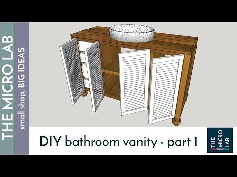 How to build a Bathroom Vanity - part 1
