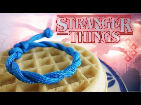 Make a Stranger Things Paracord Bracelet Tutorial | Eleven and Hopper's Friendship Bracelet