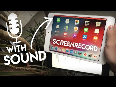 How to record iPad screen with SOUND