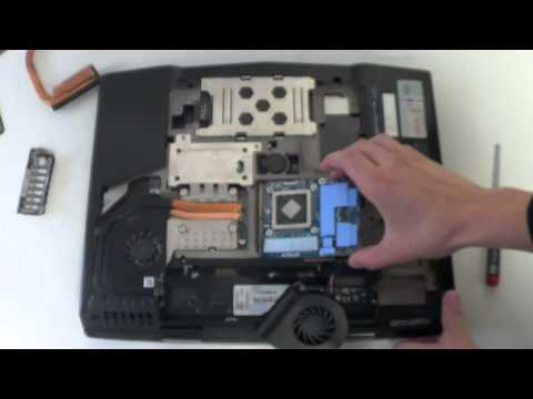 AMD Radeon HD 7970M and NVIDIA GeForce GTX 680M upgrade in Alienware M15x