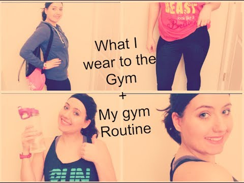 What I wear to the gym⎜My gym routine!