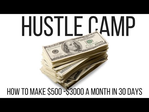 How to make $500 -  $3000 in 30 Days LEGALLY!!!