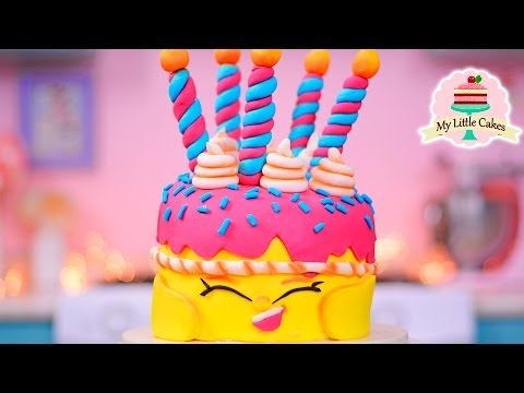 HOW TO MAKE A SHOPKINS CAKE | MY LITTLE CAKES