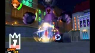 Kingdom Hearts Re:chain Of Memories Walkthrough English-part 5-boss Guard Armor