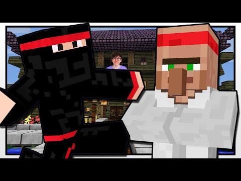 Minecraft | NINJA ACADEMY | Custom Mod Adventure