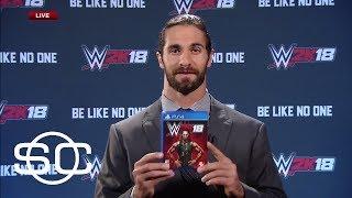 WWE Superstar Seth Rollins Reveals Cover Of WWE 2K18 | SportsCenter | ESPN