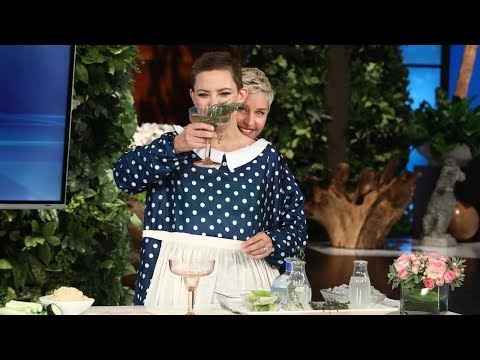 Ellen and Kate Hudson Give Tips for the Perfect Movie Night