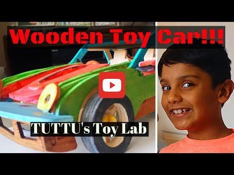 Making of Wooden Toy Car (DIY)