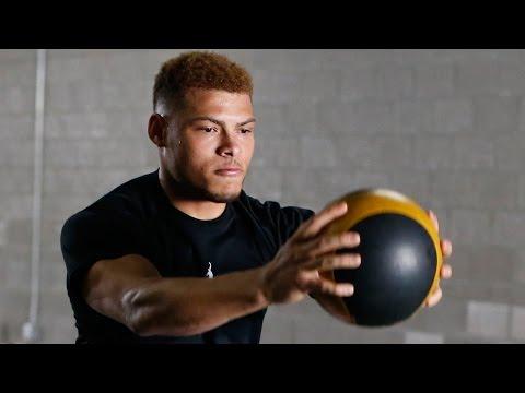 Tyrann Mathieu's Intense Lateral Quickness, Balance, & Strength Workouts   NFL Up!