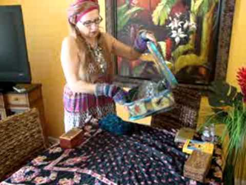 What I do with my cards after a TAROT READING? know tarot card care!