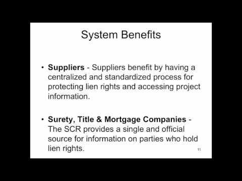 Utah State Construction Registry - Training Video