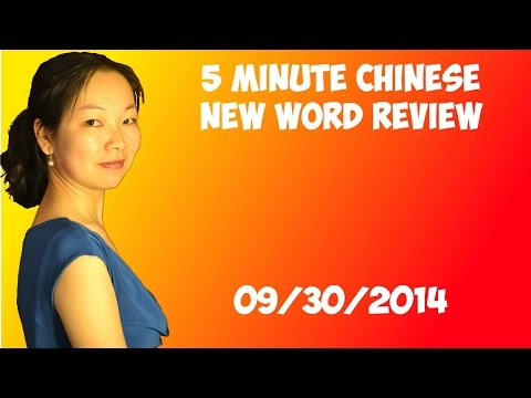 Chinese New Word Review