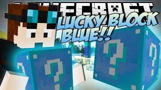 Minecraft   LUCKY BLOCK BLUE (Brand New, Crazy Blocks!)   Mod Showcase