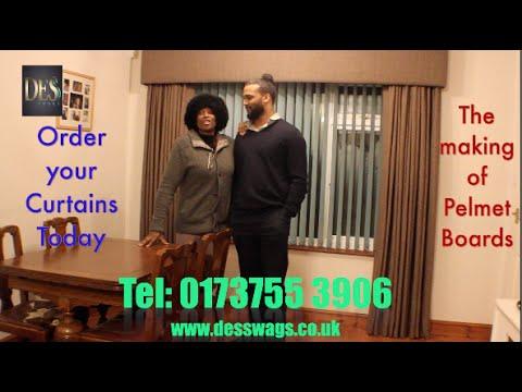 Pelmet Boards, Pinch Pleat Curtains & Tutorial