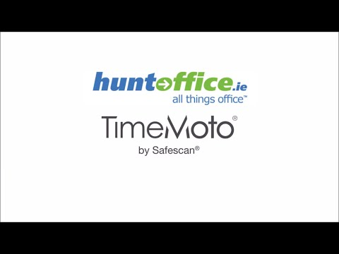 Safescan - TimeMoto PC Software & Cloud from Huntoffice.ie!
