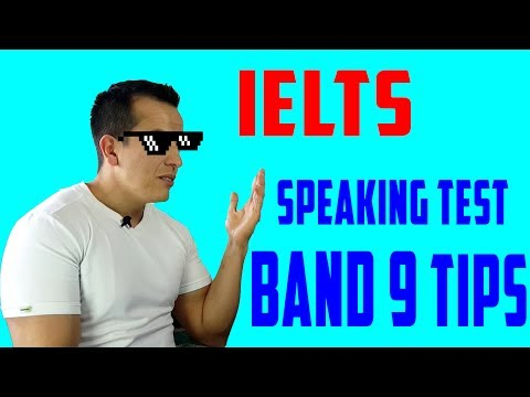 IELTS speaking - Band 9 tips!