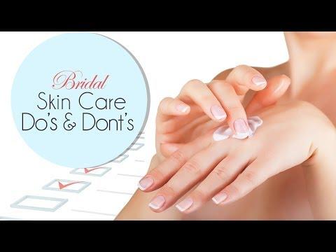 Pre Bridal Skincare Do's & Don'ts