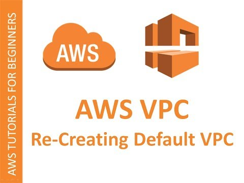 How to create AWS default VPC