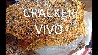 Receita de Cracker Vivo da Sophie