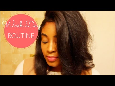 Relaxed Hair Wash Day | ft. E'TAE Carmelux Products