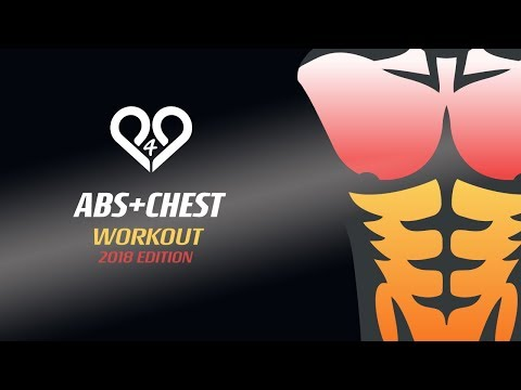 FAST CHEST + ABS WORKOUT at home with trainer tips - Ultimate killer training by P4P