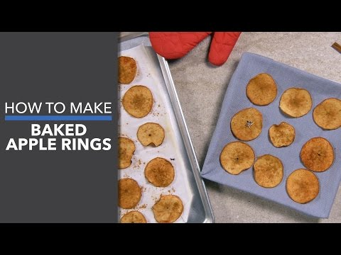 How to Make Baked Apple Rings