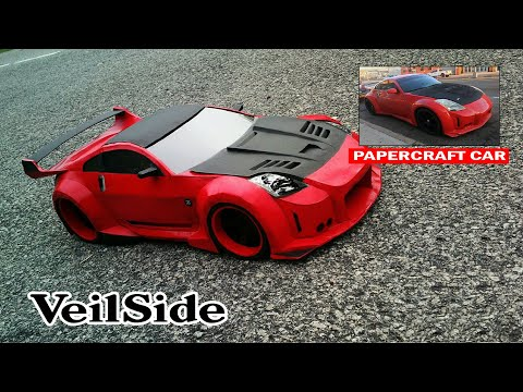 Making Nissan 350z  with Paper | How To Make