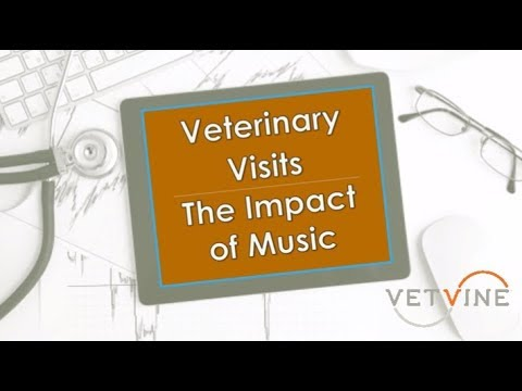 Veterinary Visits, Stress, and the Effect of Music on People and Pets